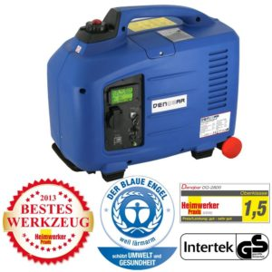 2,8 kW Digitaler Inverter Generator benzinbetrieben DQ2800E mit E-Start