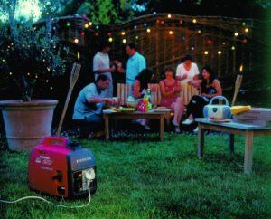 Inverter Stromerzeuger für Stromversorgung im Garten